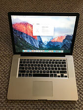Apple unibody Macbook Pro 15in late 2011, clean