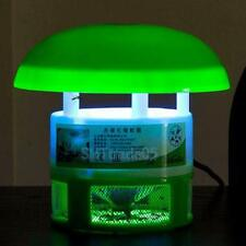 LED Electric Mosquito Fly Insect Repeller Killer Catcher Trap Lamp Light Zapper