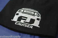TOYOTA FJ CRUISER BEANIE BLACK ACRYLIC EMBROIDERED
