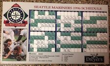Seattle Mariners 1996 Ken Griffey Magnet Fridge Schedule Opening Day Give Away