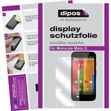 Motorola Moto G Schutzfolie klar Displayschutzfolie Folie dipos