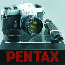 Pentax Asahi Spotmatic SPII + SERVICED by ERIC + Super Takumar 55mm 2 z50
