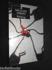MICHAEL DIBDIN - Ratking - 1988-1st - Aurilio Zen Detective, Crime Novel Fiction