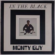 MONTY GUY: In The Black PRIVATE Modern Soul Funk Breaks VINYL LP Hear It!