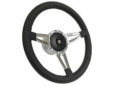 1969 - 1976 Cadillac / Slot Spoke Leather Steering Wheel, Hub & Button