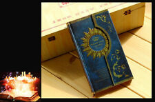 "Blue ""Pharaoh"" Hard Cover Vintage Diary Pocket NoteBook Planner Journal Memo NEW"