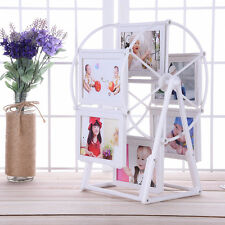 White Photo Frame Picture Frames Ferris Wheel Windmill Shape Home Decoration New
