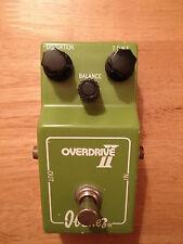 Vintage 1970s Ibanez Overdrive Ii (Tube Screamer) Pedal De Efectos De Guitarra * raros *