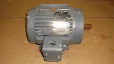 BALDOR/ VECTOR 1HP DRIVE MOTOR, CAT#ZDNM358TT, FR 143TC, 1725 RPM, REPAIRED