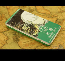 Anime Mushishi Ginko Manga Card36 PCS Postcard + Metal Box + bookmark