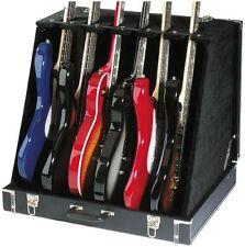 Stagg Model GDC-6 3 Acoustic or 6 Electric Guitar Multistand Stage Case - NEW
