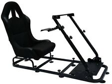 Simulatore SEDILE RACING sedile di guida, Simulator Game Chair XBOX PLAYSTATION PC F1
