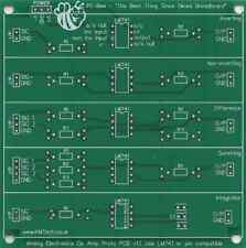 Op Amp Prototyping Board Operational Amplifier Prototype PCB Student Learning.