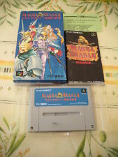 MAGNA BRABAN RPG SUPER FAMICOM IMPORT COMPLETE IN BOX!