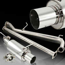For Honda Accord Coupe Sedan L4 4Cyl T-304 Catback Exhaust Muffler System Kit