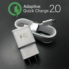 OEM Samsung Galaxy S5 S6 Edge Note 4 Note 5 Tab adaptive Fast Rapid wall charger