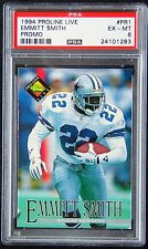 1994 Proline Live #PR1 Emmitt Smith PROMO PSA 6