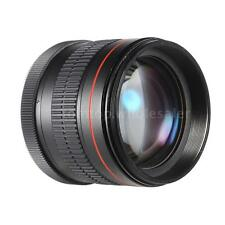 Professional 85mm f/1.8 Manual Focus Large Aperture Portrait Lens for Canon DSLR