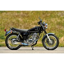 YAMAHA SR400 (injection ) Full exhaust OVER-Racing Titanium megaphone muffler