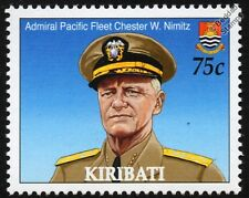 WWII US Navy Admiral of the Pacific Fleet CHESTER W. NIMITZ Stamp