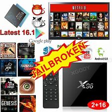XGODY S905X New 16.1 FULLY LOADED Android 6.0 TV BOX 4K Movies 2GB+16GB MINI PC