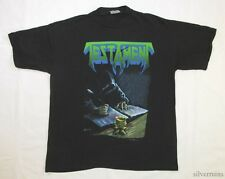 TESTAMENT Vintage T Shirt 90's Tour Concert 1990 Souls Of Black THRASH METAL M/L