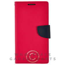 Samsung N9005 Galaxy Note 3 Mercury Wallet Case Hot Pink/Navy Cover Shell  Case