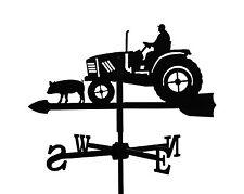 Kleine Wetterfahne Bauer auf Trecker Wetterhahn Traktor VERSANDKOSTEN FREI BRD