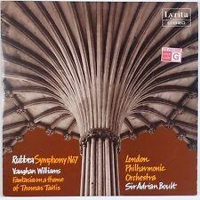 RUBBRA: Symphony No. 7 LYRITA UK Audiophile VINYL LPSRCS 41 Williams LPO
