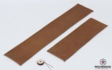 03-07 Ford F250 F350 F450 KING RANCH Leather Steering Wheel Cover 2-Piece Wrap
