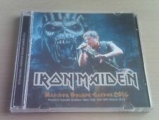 IRON MAIDEN - MADISON SQUARE GARDEN - LIVE CD - 2016 (THE BOOK OF SOULS)