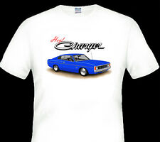 VALIANT  VJ  VK  CHARGER  265 HEMI  318 V8 WHITE TSHIRT   MEN'S  LADIES  KID'S