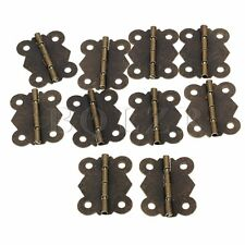 10pcs Cabinet Door Case Box Hinges Vintage Butterfly 4cm