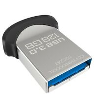 SanDisk 128GB SDCZ43-128G Cruzer Ultra Fit USB 3.0 Nano Flash Pen Drive 150MB/s