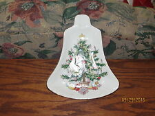 Lefton China Christmas Bell Candy/Nut dish