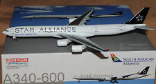 DRAGON WINGS 1/400 Airbus A340-600 SOUTH AFRICAN AIRWAYS ZS-SNC