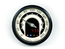 Motogadget MG5001013 Motoscope Tiny 49mm Speedster Motorcycle Analog Speedometer