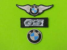 BMW  KIT 3 PATCH ARGENTO TOPPE RICAMATE TERMOADESIVE