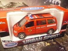 Welly® Urban Spirit Mercedes VITO  Feuerwehr Einsatzfahrzeug  ca. 11 cm lang