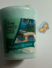YANKEE CANDLE VOTIVE ISLAND GETAWAY  RARE AND AWESOME HUNDREDS LISTED