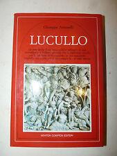 G. Antonelli: LUCULLO 1989 Newton Compton 1a ed. dedica autore Classici Latini
