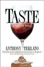 NEW - Taste: A Life in Wine by Terlato, Anthony