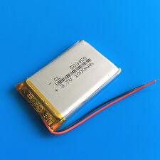 1000mAh 3.7V LiPo Battery for MP4 MP5 GPS Camera Selfie Stick Speaker PSP 503450
