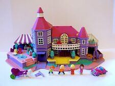 Vintage Polly Pocket Disney 1994 Magical Mansion Light UP almost 100% Complete