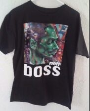 Neff Snoop Dogg - Boss T-Shirt - Sz: M - Black - Artwork - Rap Music - Rapper