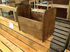 Rustic wooden new born bed photo prop