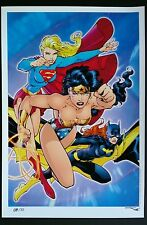 DC DIVAS SUPERGIRL - WONDER WOMAN - BATGIRL ART PRINT - JIM LEE & ALEX SINCLAIR