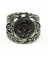 World of Warcraft Horde Logo Sign Ring Metal Toy New In Box 9.3#
