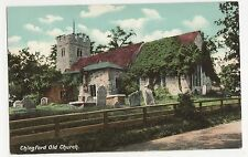 Essex, Chingford Old Church, G. Smith Postcard, A845