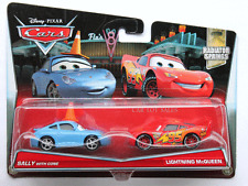 Disney Pixar Cars 2017 Sally with Cone  Lightning McQueen PC 2 Pack # 17/19